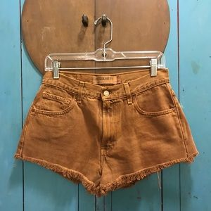 Vintage Cropped Levi's Short